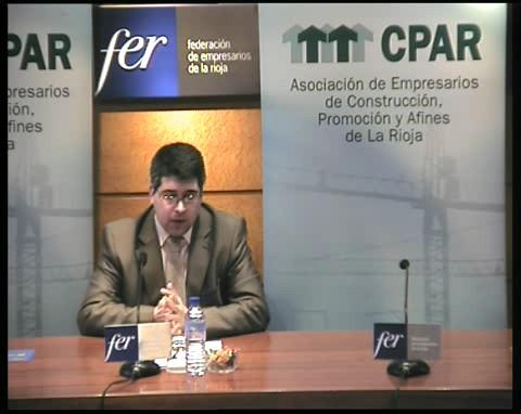 Rueda de Prensa - CPAR presenta su nuevo portal inmobiliario www.obranuevaenlarioja.com