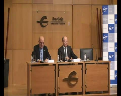 Jornada - Riesgos y retos de la política económica española, conferencia de José Luis Feito