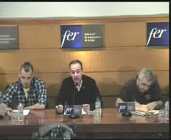 Rueda de Prensa - Los hosteleros de Nájera no instalarán terrazas en verano si el Ayuntamiento no les permite dejar el mobiliario en la calle